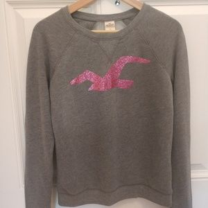 Hollister sweatshirt with mesh back
